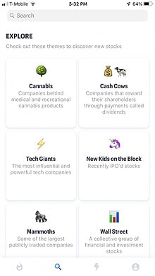 Explore Stocks in the Matador App