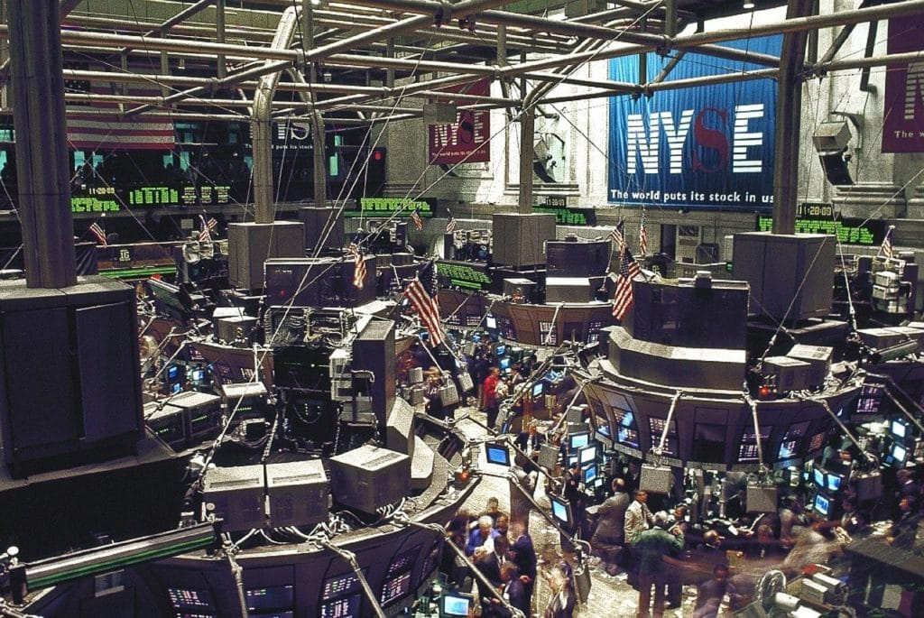 blue chip stocks traded at the NYSE